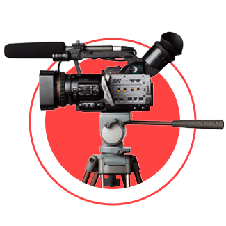 camera de captura streaming para eventos