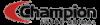 Logo Champion Saúde Animal streaming para web tv 100x25