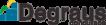 Logo Escola Degraus Concursos streaming para web tv 106x25