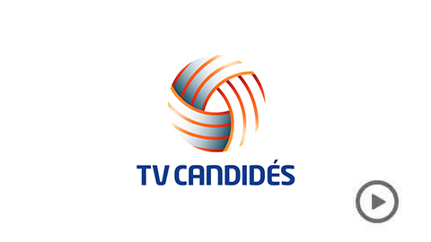 tv candides player exemplo de transmissao ao vivo
