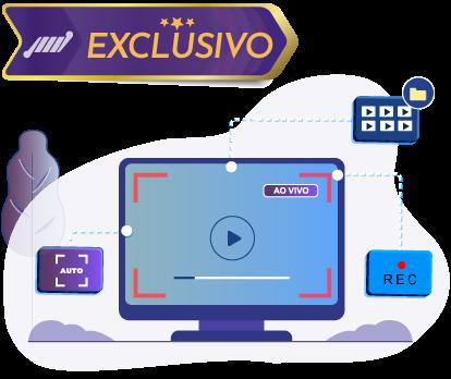 computador com gravacao ao vivo html5 video player de streaming personalizado gravacao automatica da sua transmissao ao vivo